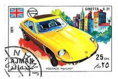 Ginetta stamp #unitedarabemirates #special #G21