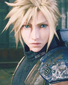 Final Fantasy Cloud, Final Fantasy Vii Remake, Cloud Strife Advent Children, Cloud Strife Cosplay, Cloud And Tifa, Final Fantasy Characters, Jessica Nigri, Princess Mononoke, Fantasy World