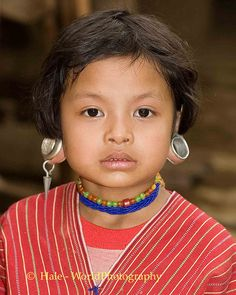 Kayaw Hill Tribe Child in Huaysuatao Refugee Camp, Maehongson Thailand