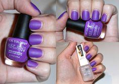 Purple Soft Matte Nail Polish
