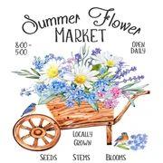 Summer Flower Market Wreath Kit, Summer Everyday Wreath Kit, Front Door Wreath Kits, Craft Embellishments