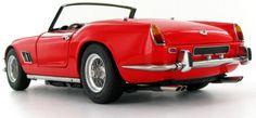 The stunning 1:18 model of the 1960 Ferrari 250 California Short Wheel Base.