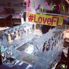 #LoveFL Ice Chair at the iHeartRadio Ultimate Pool Party