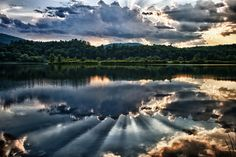Evarts Pond in Paradise Park, Windsor VT