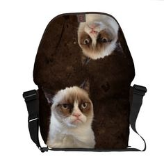 Grumpy Cat Classic Courier Bags $111.00
