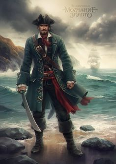 Captain Henry Hartgold (Silence is Gold) by sharandula on DeviantArt