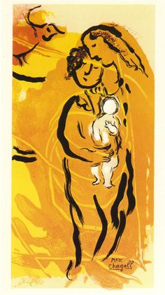 Chagall - Orange Maternity