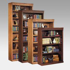 kathy ireland Home by Martin Huntington Oxford Wood Bookcase | from hayneedle.com