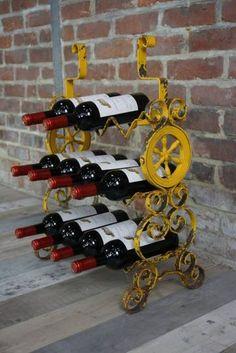 chêne Rüttelpult ancien Champagne rüttelbrett étagère à vin 10 bouteilles