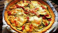 Pastel de verduras con dos quesos, la receta: ¡Me encanta esta receta! Estos pasteles con masa de pasta brisa son muy ligeros si no se les pone nata ni...