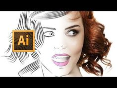 Adobe Illustrator CC - Line Art Tutorial - Tips, Tricks & Shortcuts - YouTube