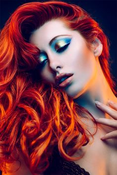 Vibrant Beauty Photography by Jake Hicks | Inspiration Grid | Design Inspiration