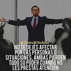 No dejes que nada ni nadie te afecte  @mentorofthebillion #frases #inspiración #motivación #éxito #emprendedores
