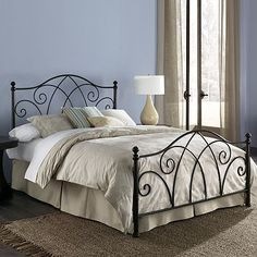 iron head and footboard from kohls