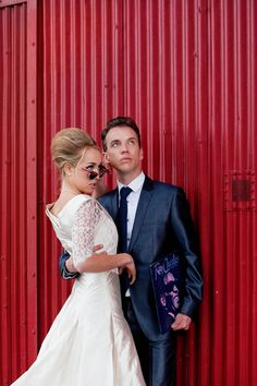 Get A Mad Men Wedding Theme With This 1960s Docklands Photoshoot
