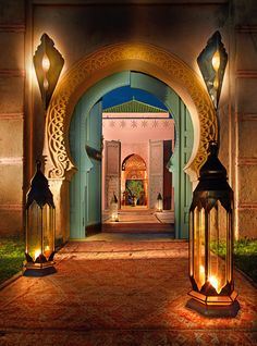 Beautiful entrance, Morocco.
