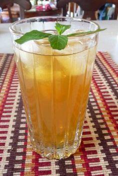 DIY - Mint Green Tea Iced Tea recipe