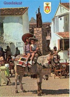 Antigua postal del Castell de Guadalest