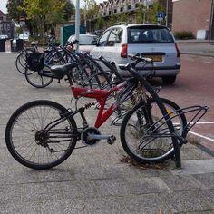 101473 fietsparkeren fietsparkeersysteem fietsenstandaard Triangel-10 Leiden, Bicycle, Vehicles, Bicycle Kick, Bike, Trial Bike, Bicycles, Vehicle, Tools