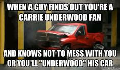 carrie underwood meme | ... guy finds out you're a carrie underwood fan ( understand if u know her song before he cheats)