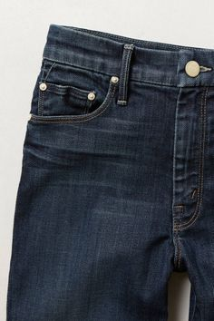 Mother Looker High-Waist Ankle Jeans - anthropologie.com