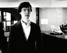 """"""" Sherlock seeing John for the first time in two years. """""""