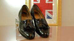 Men's Dress Shoes Salvatore Ferragamo Black by vintagestudiodesign, $45.00