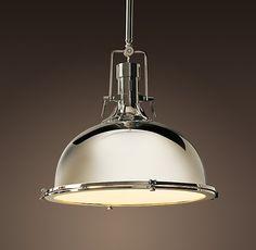 Kitchen Lighting - RH Harmon Pendant