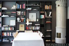 Dining with books