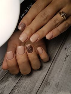 Coffe nails