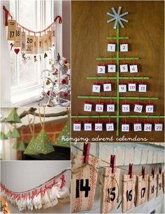 Advent Calenders but beautiful decor too
