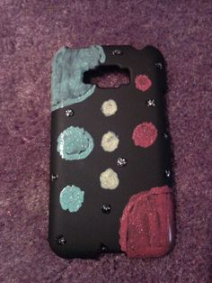 DIY Galaxy phone case.... It's a nice little accomplishment for non artsy people like me :)