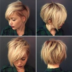 Adorables Ideas corte de pelo con flequillo Pixie
