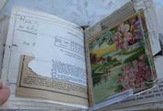 Journal inspiration and eye candy - Rambling Rose - typepad blog. Chunky little rose book (27)