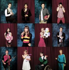 Glee. Almost my entire iTunes consists of these perfect people :)