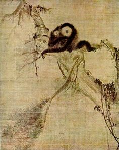 Mu Qi chinese painter of the Song Dynasty
