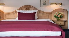 If you book one of our Standard Queen rooms, this will be your comfy bed!
