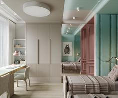 Design and visualization of a children's room