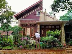 41 rumah ala indonesia paling di sukai komunitas! Cabin, House Styles, Outdoor Decor, Home Decor, Decoration Home, Room Decor, Cabins, Cottage, Home Interior Design
