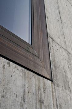 subtilitas:  Window detail at Olgiati's school in Paspels, 1998. Via.