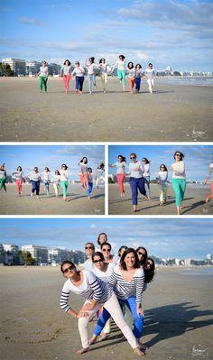 EVJF sur la plage de la Baule | Crédits : Margaux Graphy | Donne-moi ta main - Blog mariage
