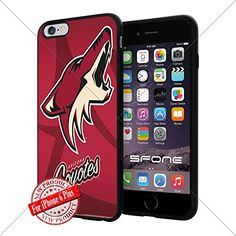 Arizona Coyotes 3 WADE4507 NHL iPhone 6+ 5.5 inch Case Protection Black Rubber Cover Protector WADE CASE http://www.amazon.com/dp/B013NKL16K/ref=cm_sw_r_pi_dp_O9Gnwb11MYA6Q