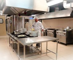 Limpeza de cozinha industrial