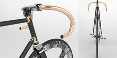 cinelli supercorsa pista - 3d cad by mario ginev
