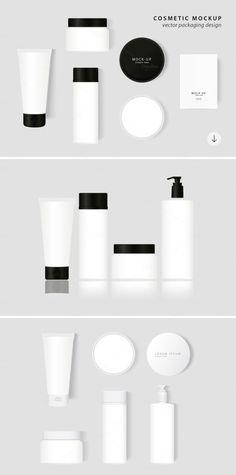 25+ Creative Fashion Cosmetics Branding Mockups PSD