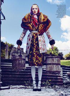 Folk Tales: Stylist Magazine UK October 2015 by Kristian Schuller