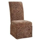Found it at Wayfair - Classic Seating Paisley Tapestry Skirted Slipcover
