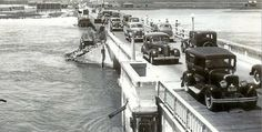WAY BACK MACHINE: Here's how things looked on the bridge to West Ocean City back in the day.