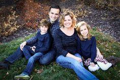 Family photos - family of four (4) pose : www.nightowlphotokc.com # ...