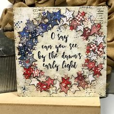 4th July Crafts, Fourth Of July Decor, 4th Of July Decorations, Patriotic Crafts, July 4th, Americana Crafts, Patriotic Room, Summer Crafts, Holiday Crafts